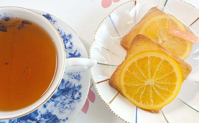紅茶にあうオレンジケーキ|紅茶通販専門店 いい紅茶ドットコム